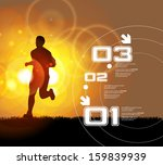 sport vector illustration  | Shutterstock .eps vector #159839939