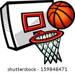 Cartoon Vector Basketball And...