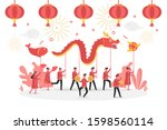 concept of chinese new year...