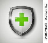 medical health protection... | Shutterstock . vector #1598633467