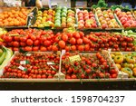 Fruit And Vegetable Market....