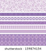 Purple Decorative Line
