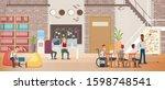 work opportunities for people... | Shutterstock .eps vector #1598748541