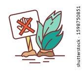 don t move plants color line...