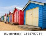 A Row Of Colourful Multi...