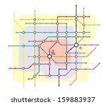 stylized illustration of a... | Shutterstock . vector #159883937