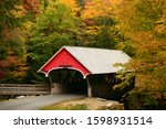 A Quaint Covered Bridge Is...