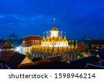 bangkok thailand wat...   Shutterstock . vector #1598946214