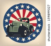 Veterans Day Badge Eps10 Vecto...