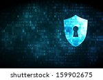 Cyber Security Concept  Shield...