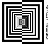 black and white squares | Shutterstock .eps vector #159913157