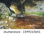 Oparara River Flows Through...