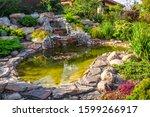 Landscape Design In Home Garden ...