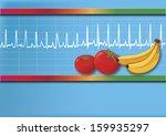 ecg   Shutterstock .eps vector #159935297