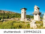 Ruins of the ancient city of Xanthos. UNESCO world heritage in Turkey