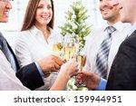 portrait of smart colleagues...   Shutterstock . vector #159944951