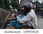 kathmandu  nepal   sept 28 ... | Shutterstock . vector #159954014