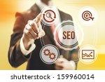 search engine optimization...   Shutterstock . vector #159960014