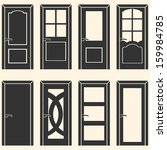 apartment,architecture,black,building,carvings,classic,clip art,closed,collection,decoration,design,different types doors,door,doorway,draw