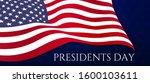 president's day celebration. 3d ... | Shutterstock . vector #1600103611