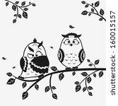 illustration black and white of ... | Shutterstock .eps vector #160015157