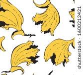 bold seamless yellow ocher... | Shutterstock .eps vector #1600212421