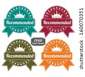 eps10 vector   colorful vintage ... | Shutterstock .eps vector #160070351