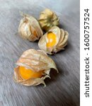 cape gooseberry or physalis... | Shutterstock . vector #1600757524