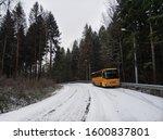Broken Bus Abandoned In The...