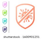 coral stop virus  bacteria ... | Shutterstock . vector #1600901251