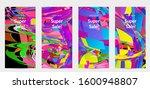 abstract social media template...   Shutterstock .eps vector #1600948807
