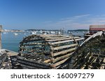 Old Style Lobster Pots And...