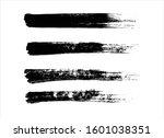 art brush paint stroke... | Shutterstock .eps vector #1601038351
