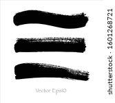 vector abstract watercolor... | Shutterstock .eps vector #1601268721