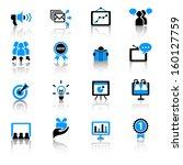 marketing icons | Shutterstock .eps vector #160127759