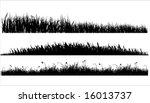 three variants of black... | Shutterstock .eps vector #16013737