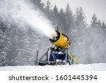 Snow Cannon Machine In Ski...
