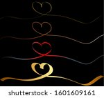 continuous line drawing of... | Shutterstock .eps vector #1601609161