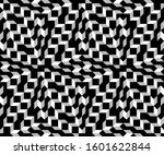 geometric abstract pattern.... | Shutterstock .eps vector #1601622844