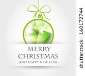 Green Crystalline Christmas...