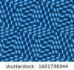 geometric abstract pattern.... | Shutterstock .eps vector #1601738344