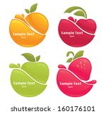 vector collection of fresh... | Shutterstock .eps vector #160176101