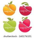 vector collection of fresh... | Shutterstock .eps vector #160176101