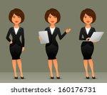 cute cartoon illustration of a... | Shutterstock .eps vector #160176731