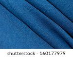 blue fabric as a background | Shutterstock . vector #160177979