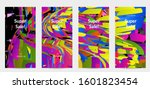 abstract social media template...   Shutterstock .eps vector #1601823454