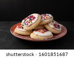 Sprinkle Cookies With Vanilla...