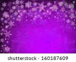 Purple Christmas Background...