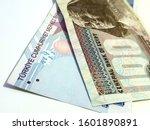 one hundred egyptian pound vs... | Shutterstock . vector #1601890891