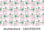 elegant flower pattern... | Shutterstock .eps vector #1601930194